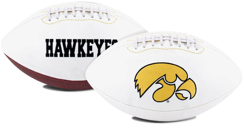 Iowa Hawkeyes Football Full Size Embroidered Signature Series