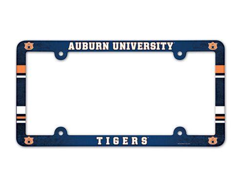 Auburn Tigers License Plate Frame - Full Color