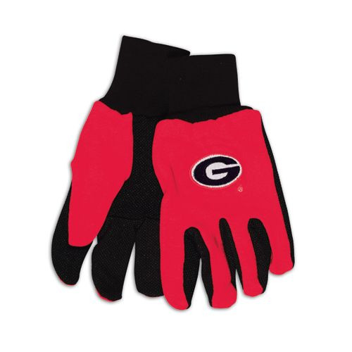 Georgia Bulldogs Two Tone Gloves - Adult - New Logo