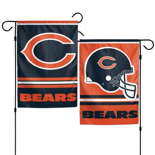 Chicago Bears Garden Flag 12x18
