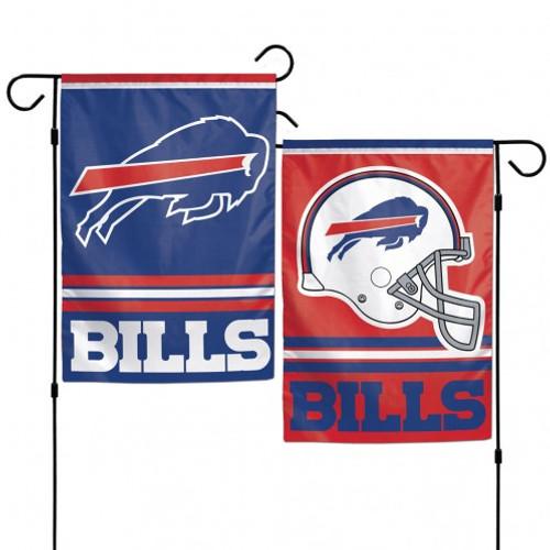 Buffalo Bills Flag 12x18 Garden Style 2 Sided