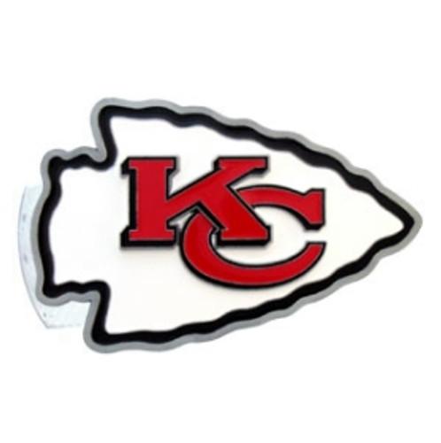 Kansas City Chiefs Trailer Hitch Logo Cover