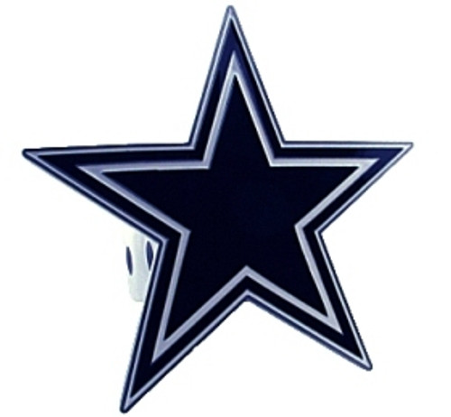 Dallas Cowboys Trailer Hitch Logo Cover