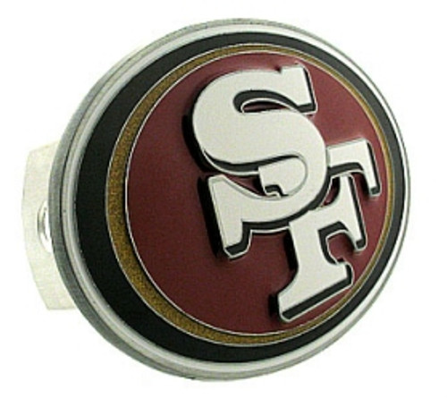 San Francisco 49ers Trailer Hitch Logo Cover