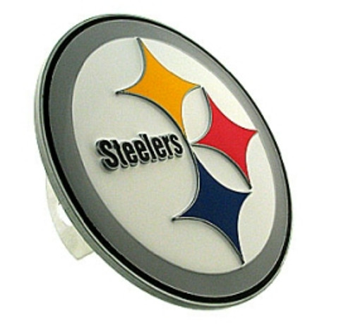 Pittsburgh Steelers Trailer Hitch Logo Cover