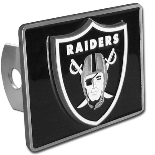 Oakland Raiders Trailer Hitch Cover