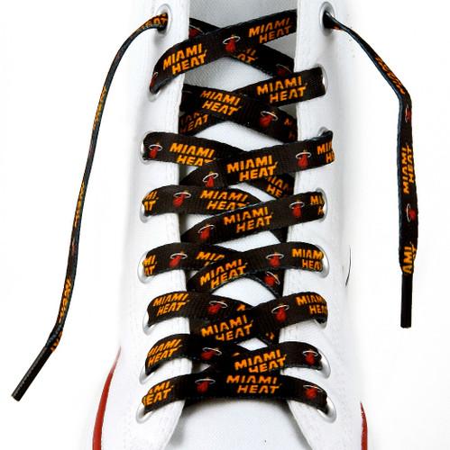 """Miami Heat Shoe Laces - 54"""""""