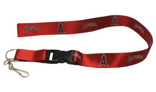 Los Angeles Angels of Anaheim Lanyard - Breakaway with Key Ring