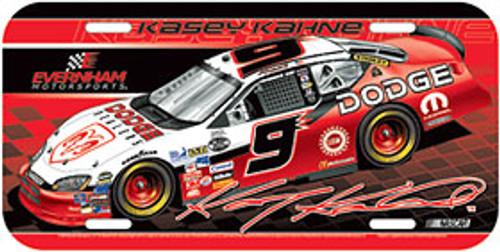 Kasey Kahne License Plate