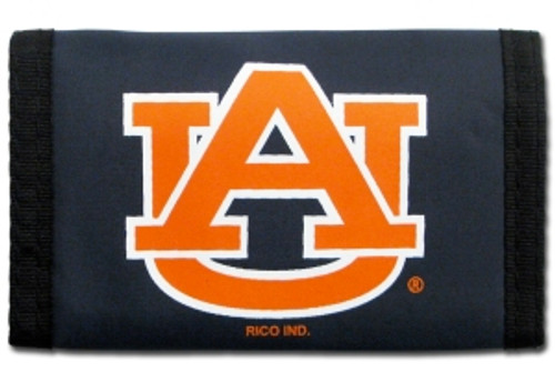 Auburn Tigers Nylon Trifold Wallet