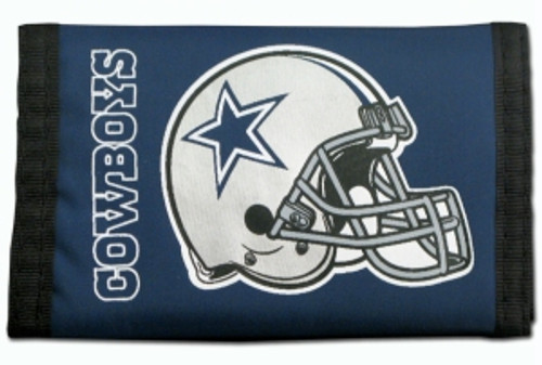Dallas Cowboys Nylon Trifold Wallet