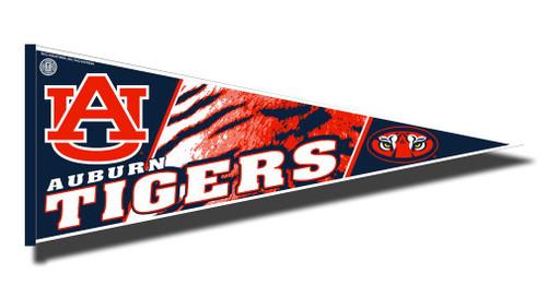 Auburn Tigers Pennant 12x30 Carded Rico