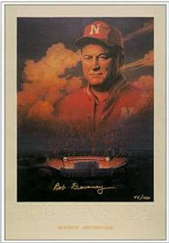 Bob Devaney Autographed Print (Unframed)