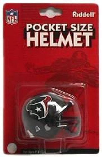 Houston Texans Helmet Riddell Pocket Pro VSR4 Style