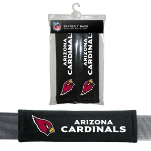 Arizona Cardinals Seat Belt Pads Velour
