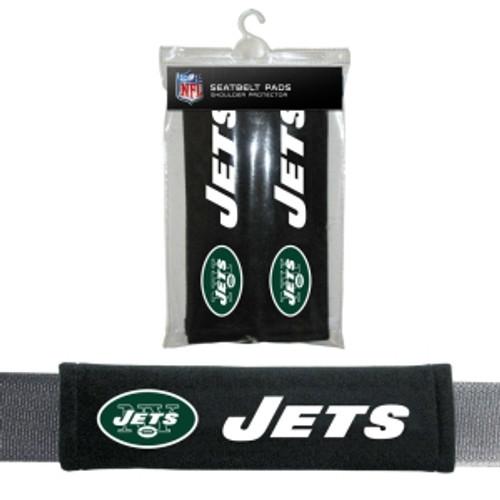 New York Jets Seat Belt Pads Velour