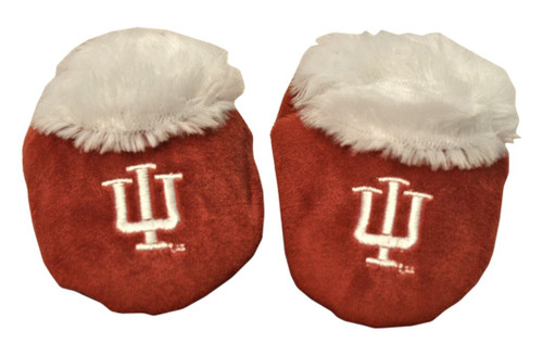 Indiana Hoosiers Slippers - Baby Booties
