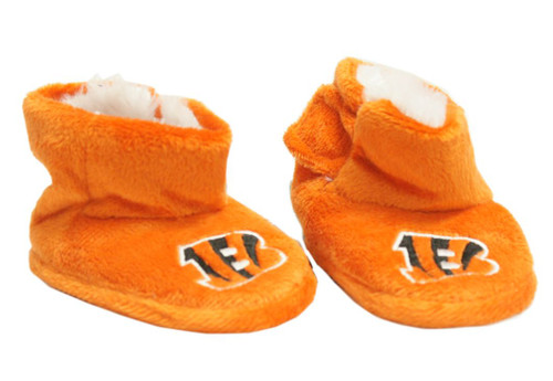 Cincinnati Bengals Slippers - Baby High Boot
