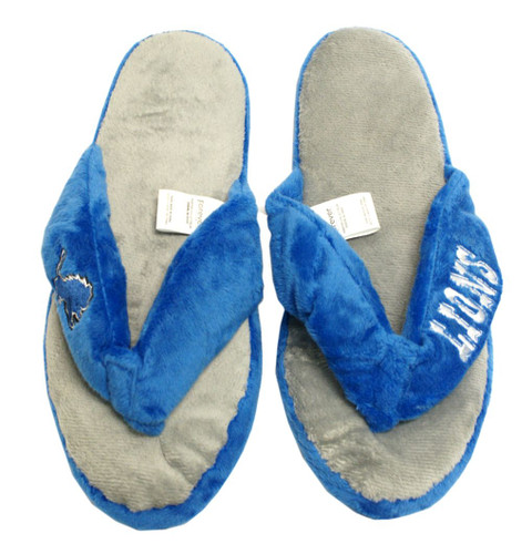 Detroit Lions Slippers - Womens Thong Flip Flop (12 pc case)