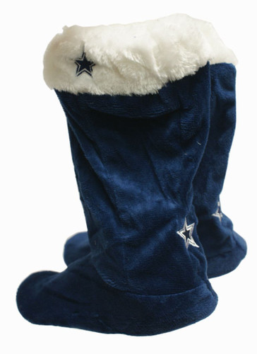 Dallas Cowboys Slippers - Womens Stocking