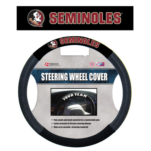 Florida State Seminoles Steering Wheel Cover - Mesh