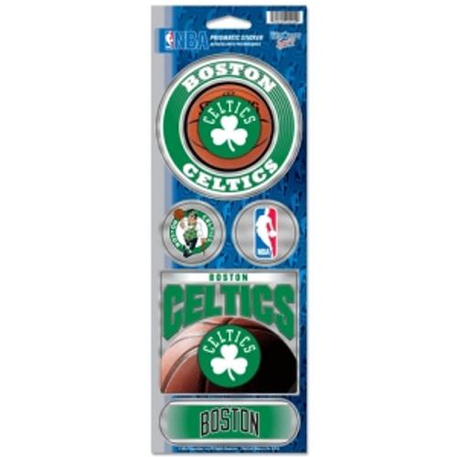 Boston Celtics Stickers Prismatic