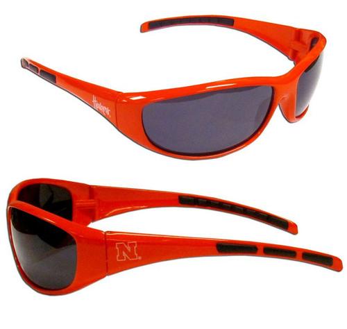 Nebraska Cornhuskers Sunglasses - Wrap