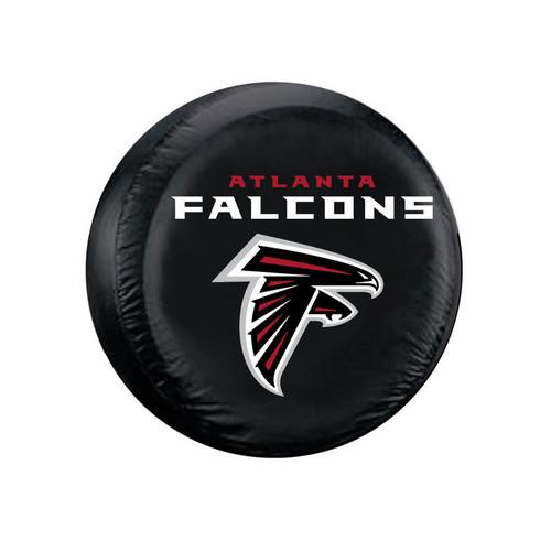 Atlanta Falcons Tire Cover Standard Size Black
