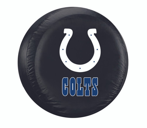 Indianapolis Colts Tire Cover Standard Size Black