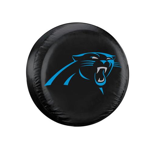 Carolina Panthers Tire Cover Standard Size Black
