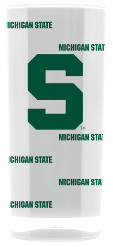 Michigan State Spartans Tumbler - Square Insulated (16oz)