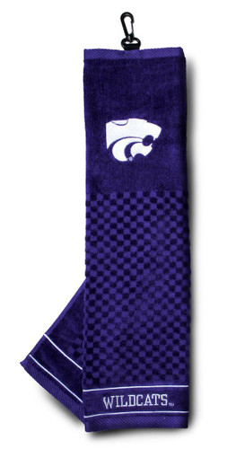 """Kansas State Wildcats 16""""x22"""" Embroidered Golf Towel"""