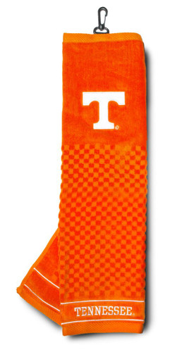 """Tennessee Volunteers 16""""x22"""" Embroidered Golf Towel"""