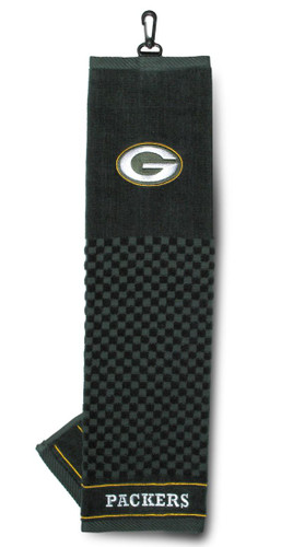 """Green Bay Packers 16""""x22"""" Embroidered Golf Towel"""