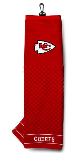 "Kansas City Chiefs 16""x22"" Embroidered Golf Towel"