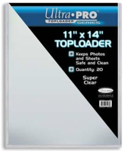 "Top Loader - 11""x14"" (20 per pack)"