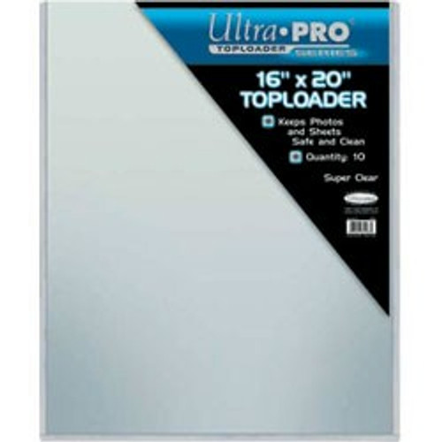 "Top Loader - 16""x20"" (10 per pack)"