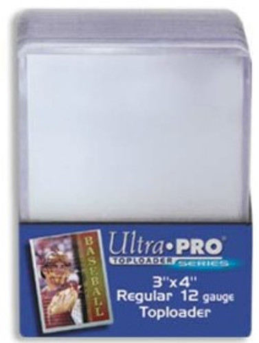"Top Loader - 3""x4"" Light Clear (25 per pack)"