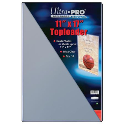 "Top Loader - 11""x17"" (10 per pack)"