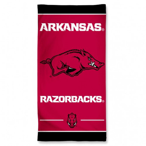 Arkansas Razorbacks Beach Towel