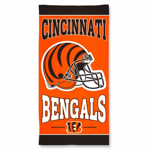 Cincinnati Bengals Beach Towel