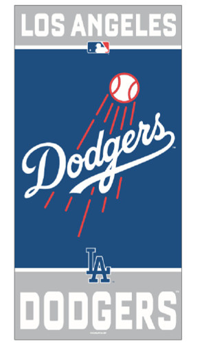 Los Angeles Dodgers Towel 30x60 Beach Style