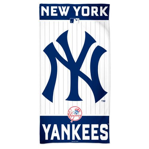 New York Yankees Towel 30x60 Beach Style