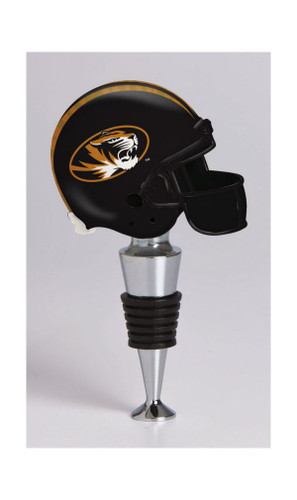 Missouri Tigers Football Helmet Wine Bottle Stopper