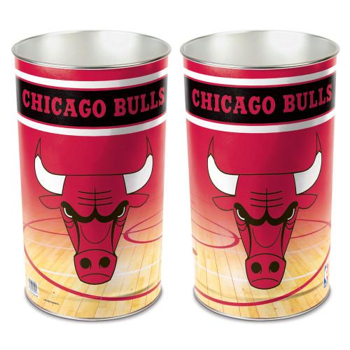 "Chicago Bulls 15"" Waste Basket"