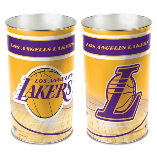 Los Angeles Lakers Wastebasket 15 Inch