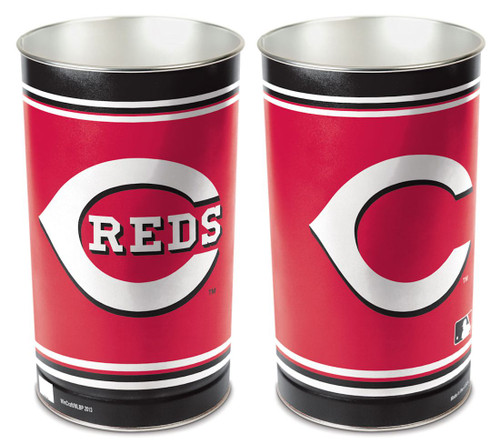 Cincinnati Reds Wastebasket 15 Inch