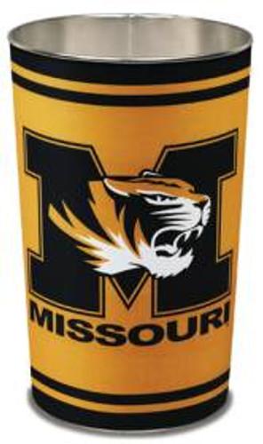 "Missouri Tigers 15"" Waste Basket"