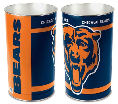 "Chicago Bears 15"" Waste Basket"