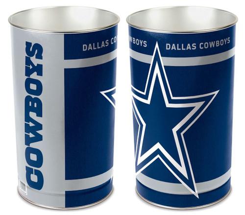 """Dallas Cowboys 15"""" Waste Basket"""